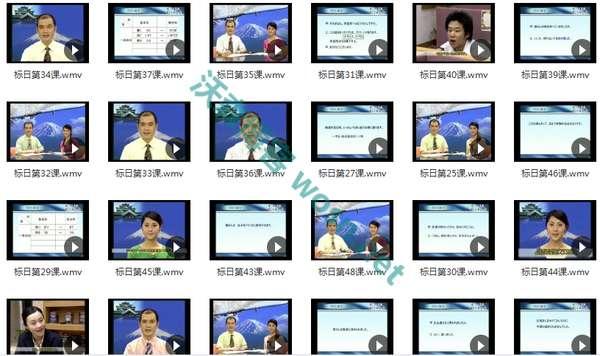 价值 2k+的日语零基础到 N2 的教程全集 百度云盘