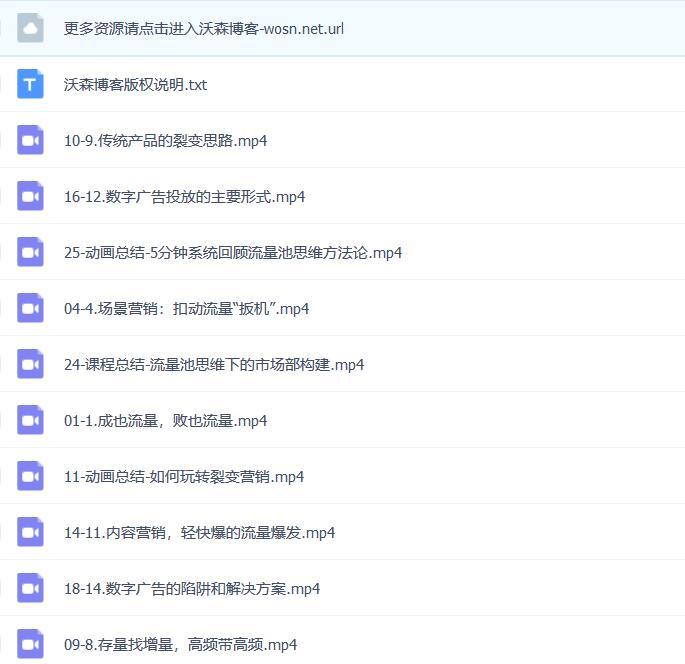 2019 杨飞的流量池实战营销 16 讲