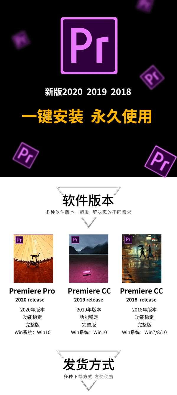 pr 安装包百度云下载(Win 版本+MAC 版本+安装教程)