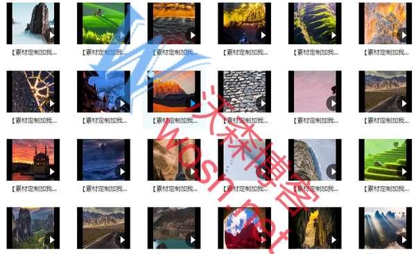 风景视频素材免费下载(竖版高清无水印无字幕 720*1280P)