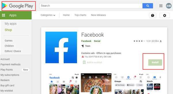 最新版 facebook 脸书安卓 APP 下载(APK 安装包)