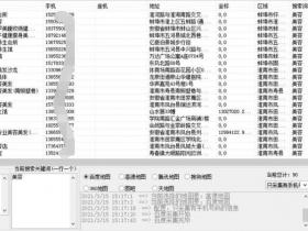 百度地图商家电话号码采集(高德+腾讯门店信息导出工具)