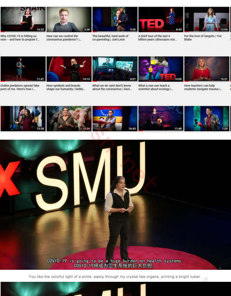 TED 演讲视频+音频 MP3+文稿大全下载 (百度云)