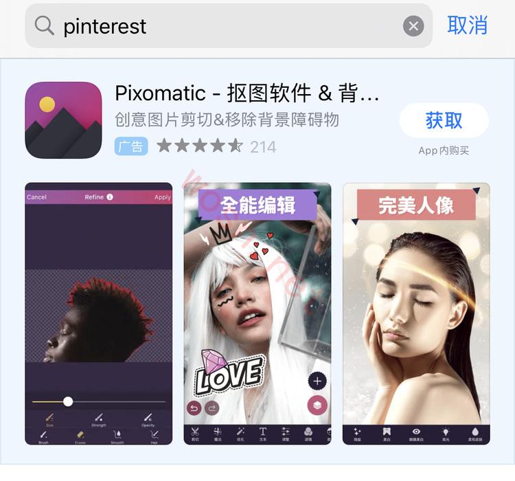 pinterest 图钉软件下载(苹果版+安卓版)